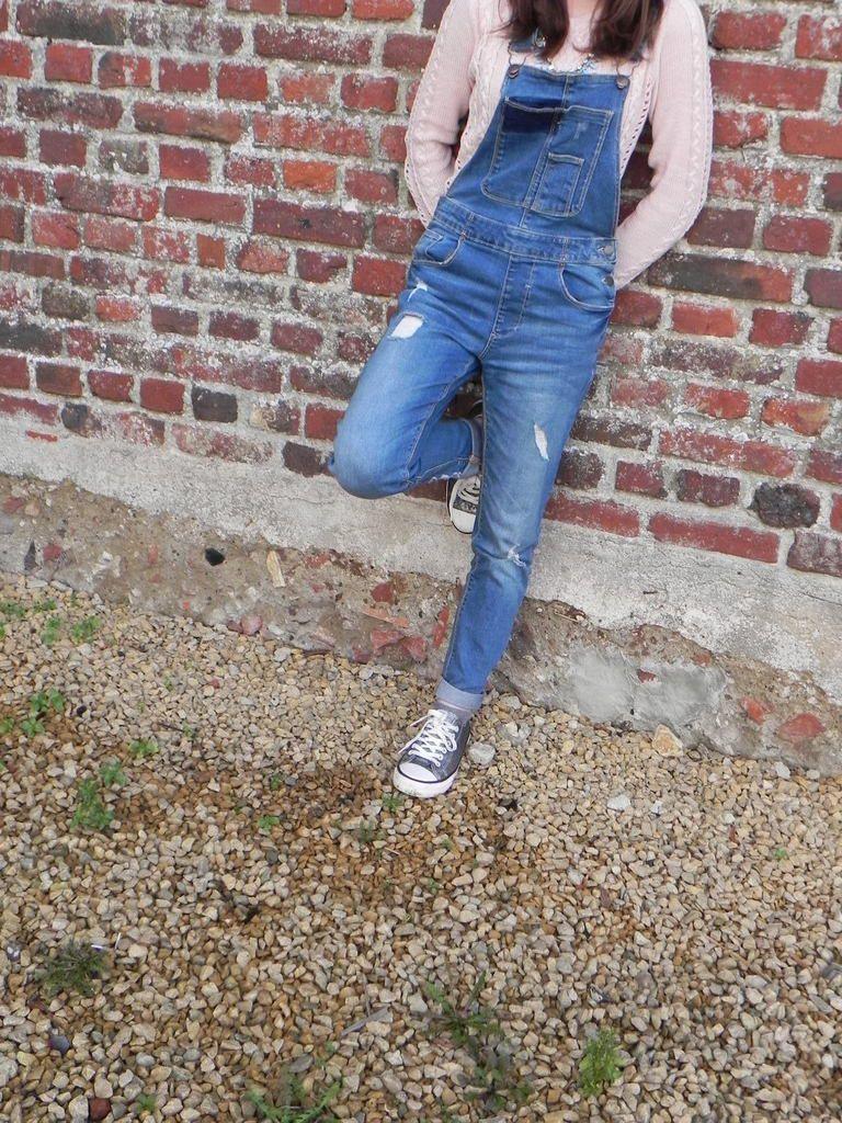 La salopette en jean ♡