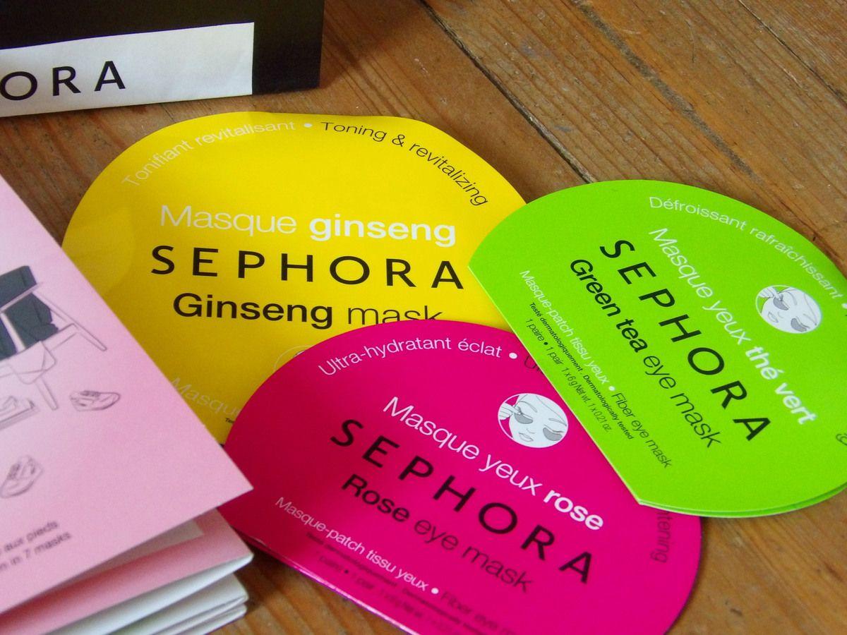 Test masques tissus Sephora ! ♡