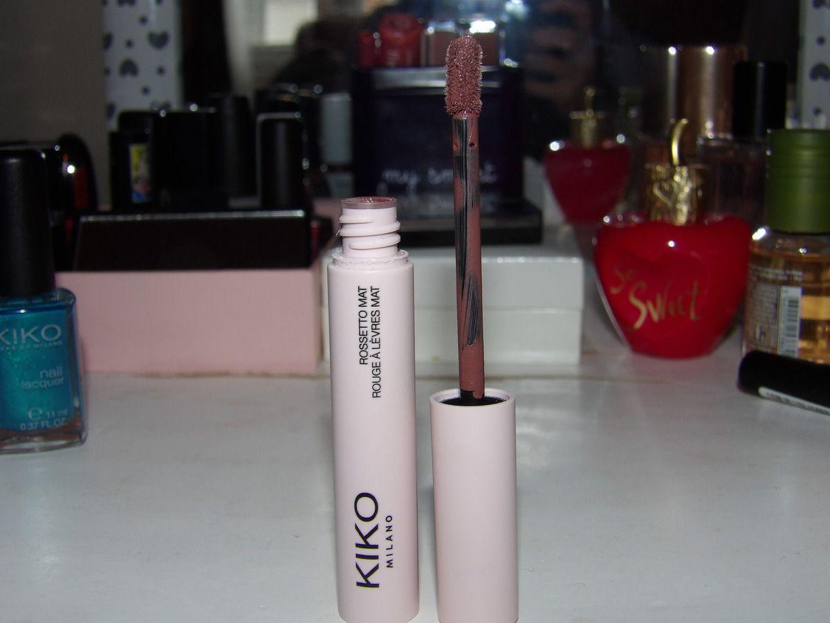 ZOOM SUR MES ACHATS KIKO : rouges à lèvres, mascaras ... gros coup de coeur ! ♡