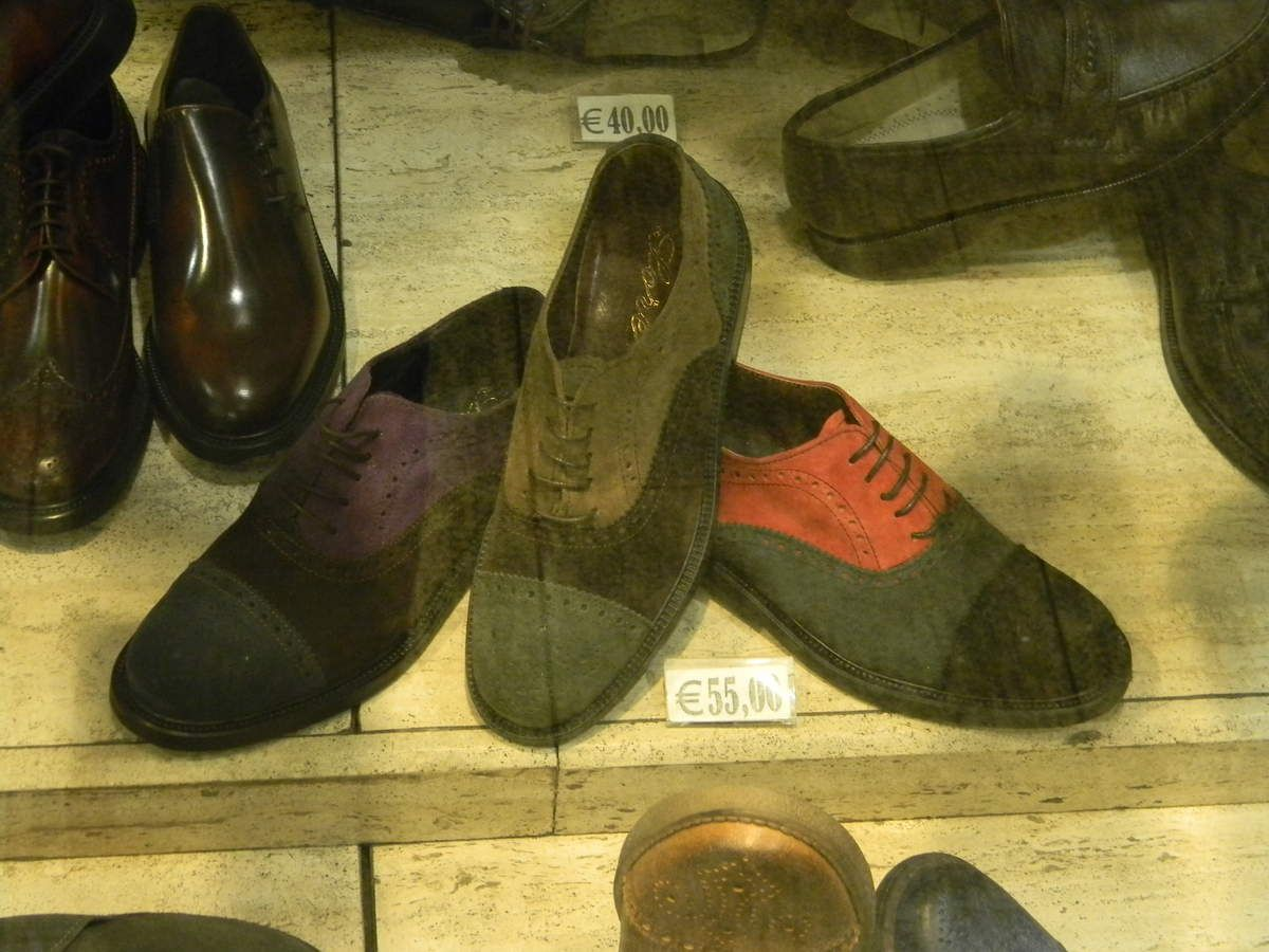 Rome : album perso chaussures