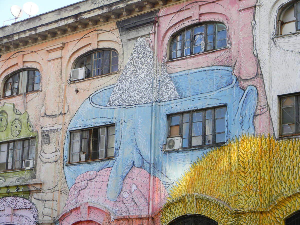 Rome : graffs quartier porto fluviale