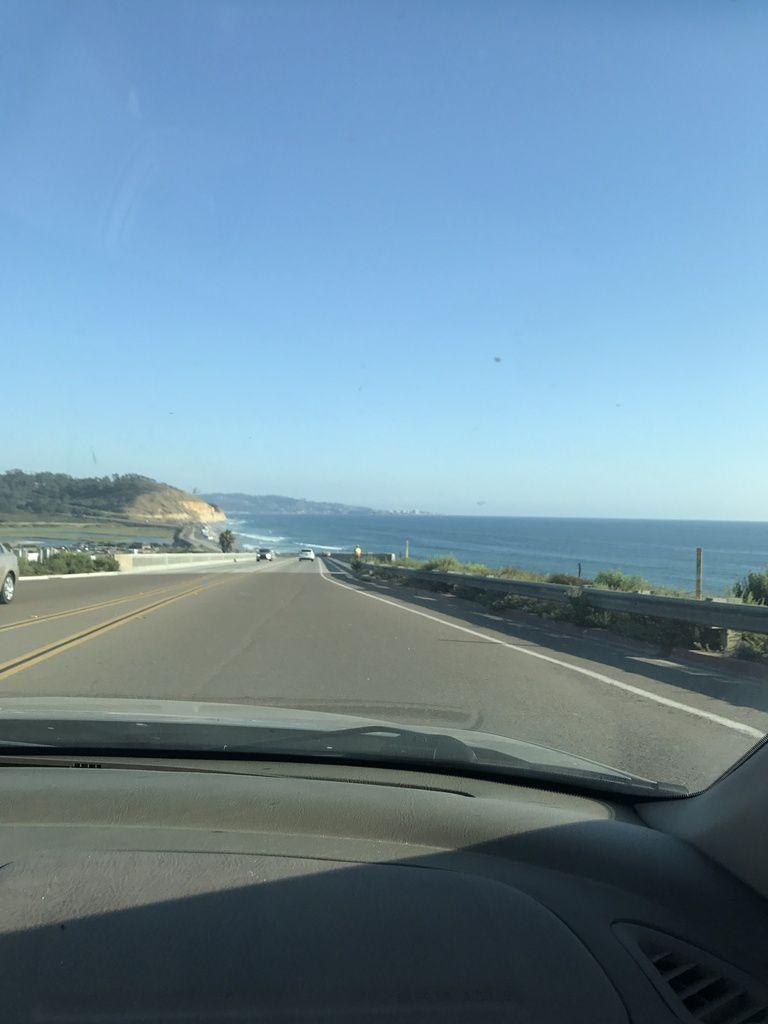 Belle vue depuis la route!