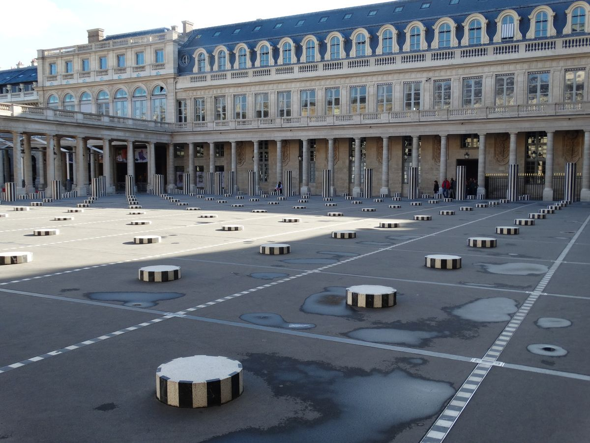Paris – 1er arrondissement – Le Palais Royal