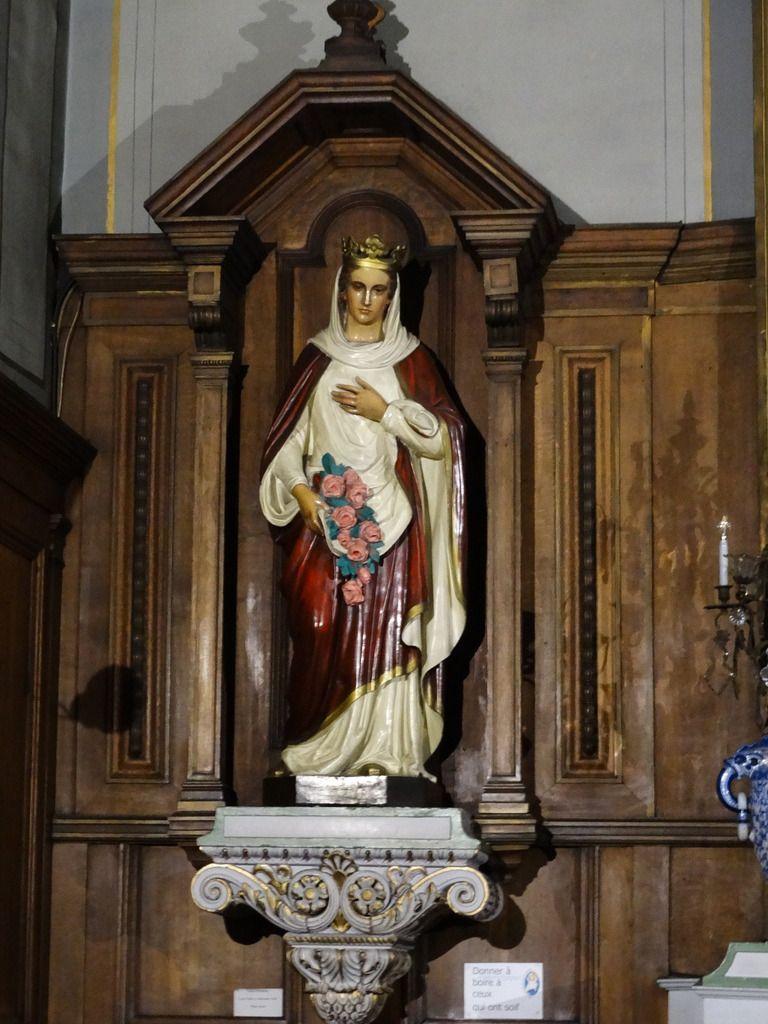 Statue de sainte Élisabeth date du milieu du 19ème siècle