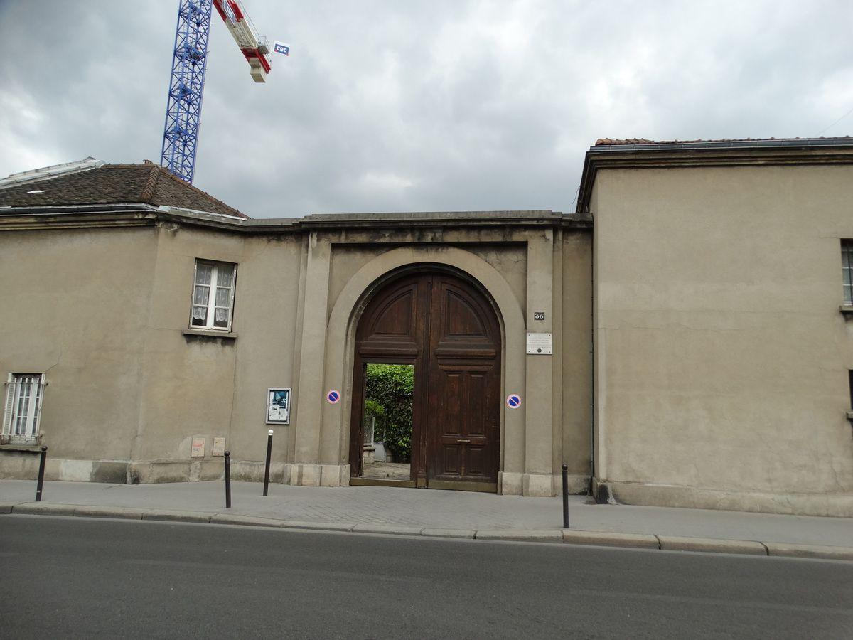 Paris 12 me arrondissement cimeti re de picpus bernard k project - Garage renault rue de picpus ...