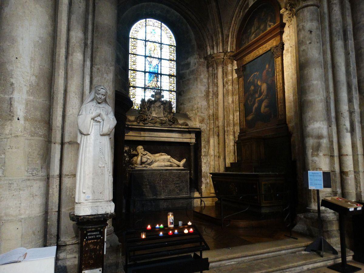 Mausolée de Guillaume Douglas (1552 – 1611), noble écossais  exilé en France, protestant reconverti au catholicisme.