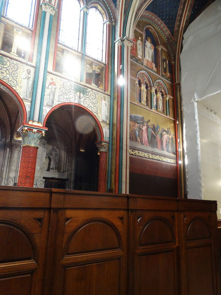 Eglise Saint Germain des Près.