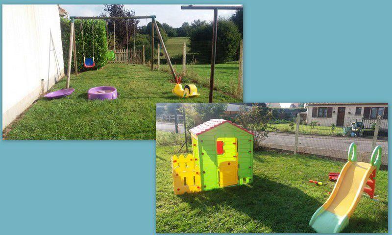 Mon jardin sécurisé, un bel espace pour s'amusé :)
