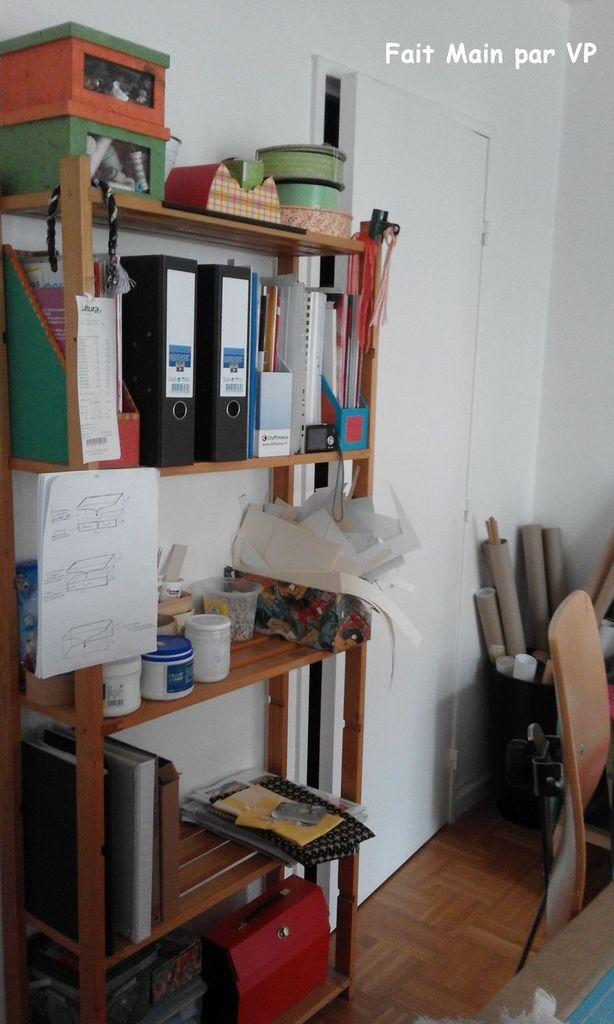 Cartonnage : Nouveauté dans mon atelier.....