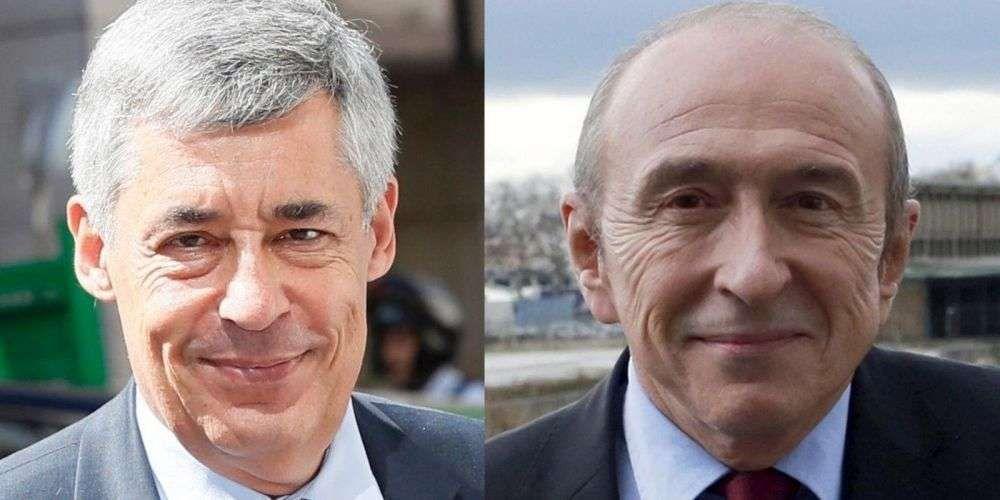 Henri Guaino (à gauche) et Gérard Collomb ont des difficultés à vivre avec leurs salaires de député et sénateur.