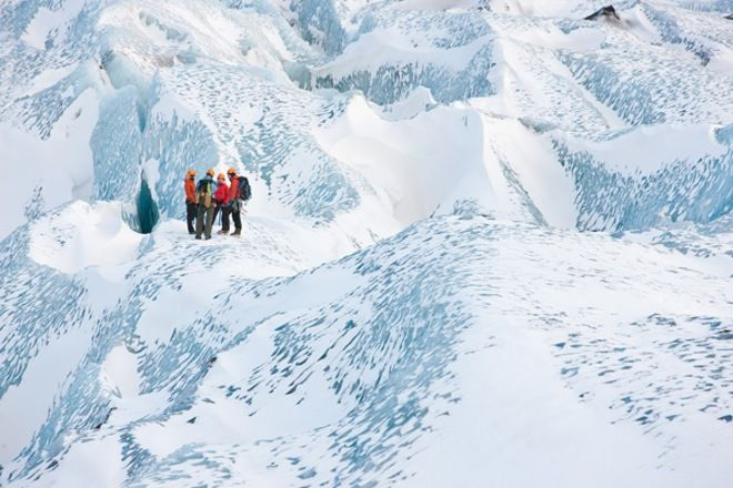 What is a glacier?