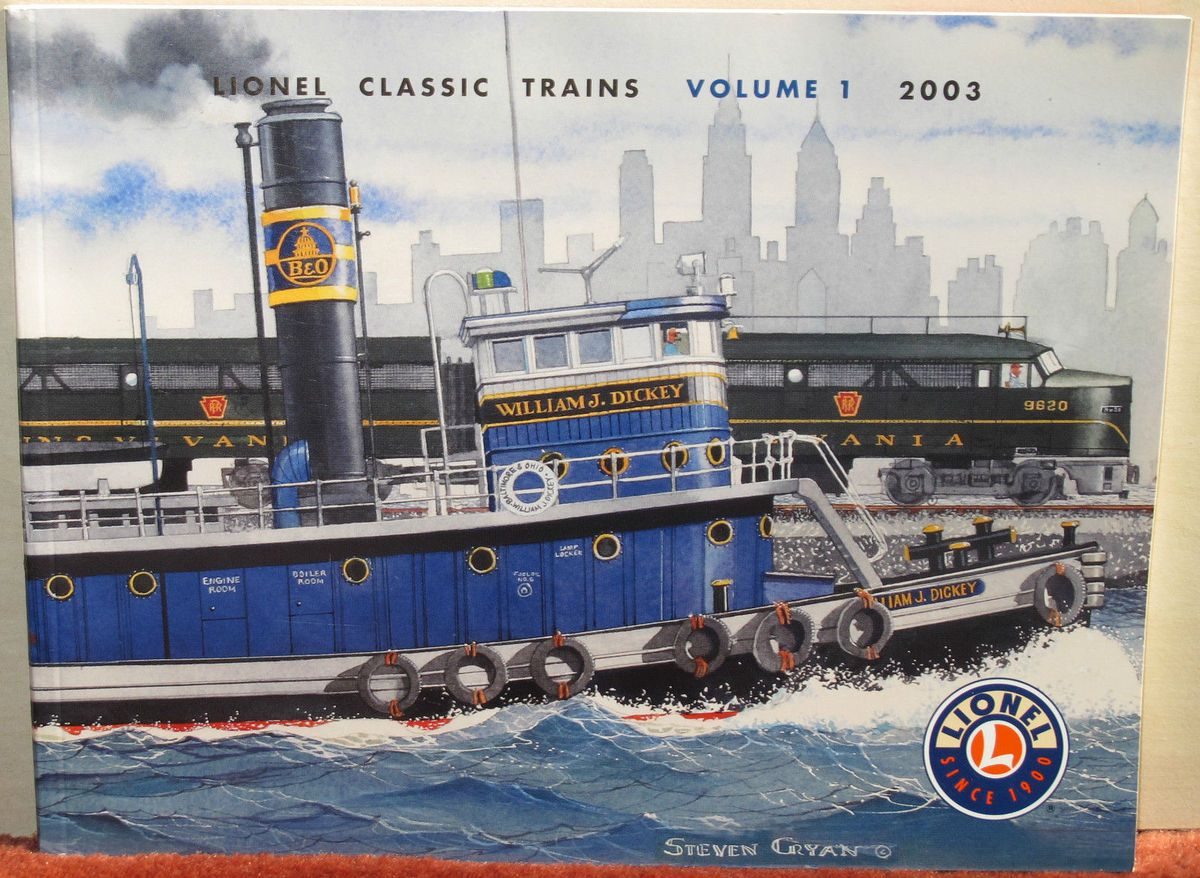 Catalogue 2003 Volume 1 Lionel