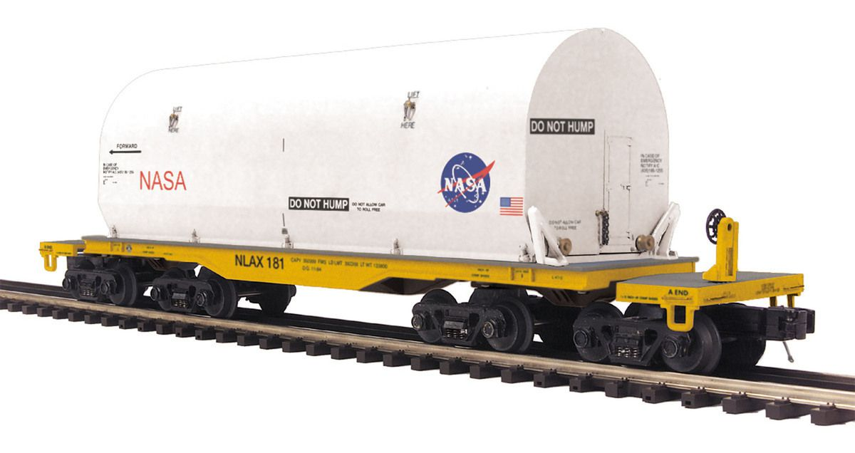 MTH 47' TTX Heavy Duty Flat Car w/Cover