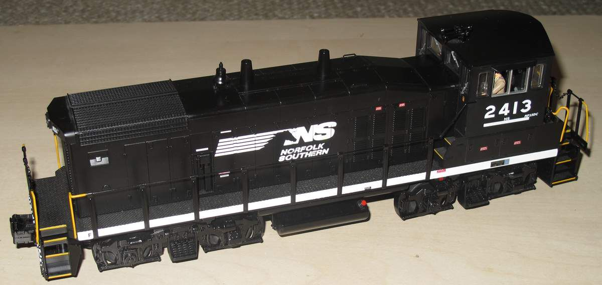 MTH RailKing Norfolk Southern MP15DC 3 rails échelle O
