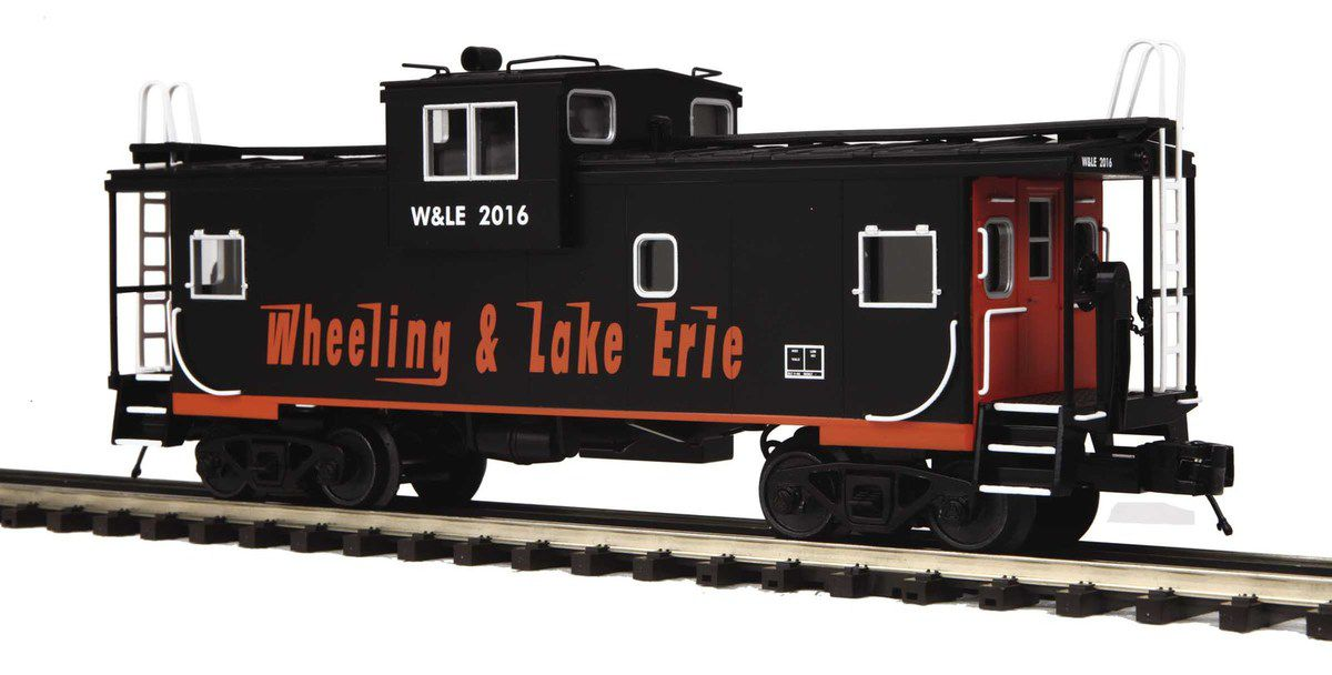 MTH Premier 2 Caboose Wheeling and Lake Erie hors catalogue échelle O
