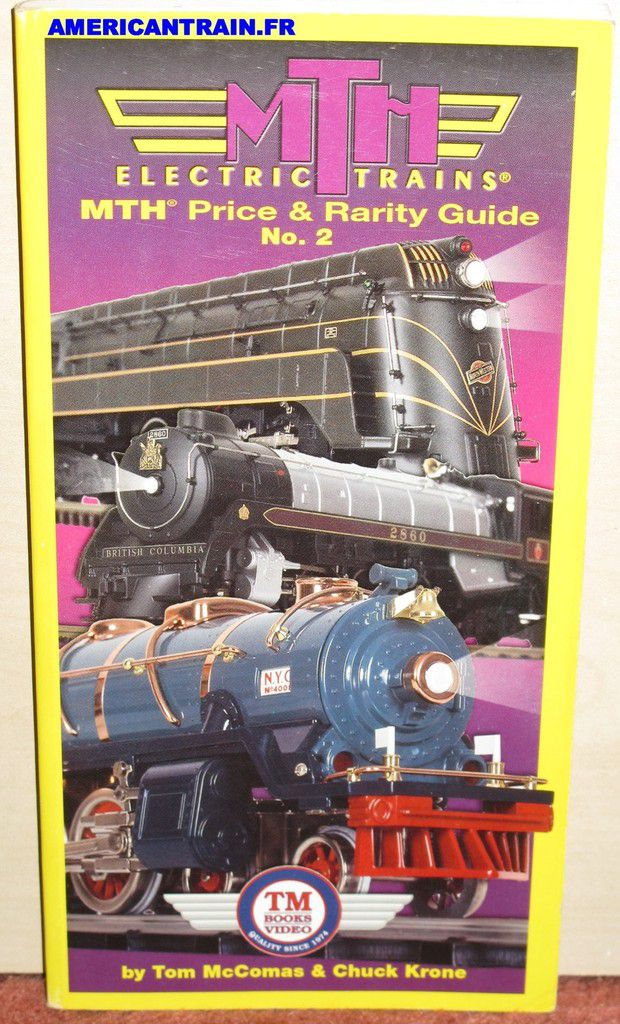 MTH Price & Rarity Guide n°2 Tom McComas & Chuck Krone