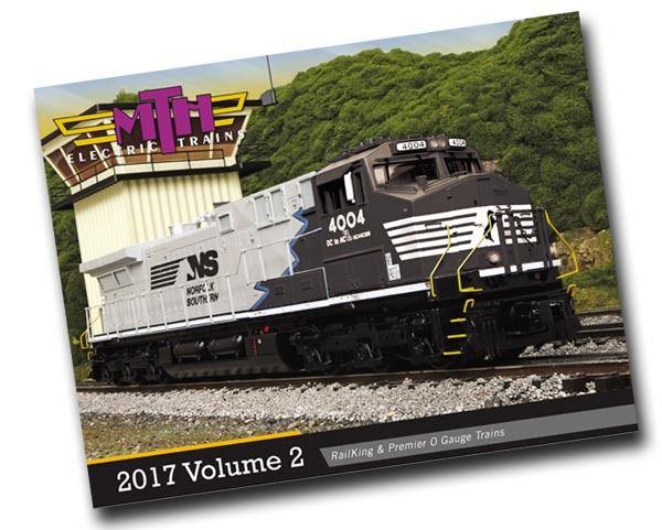 Le catalogue 2017 Volume 2 MTH disponible