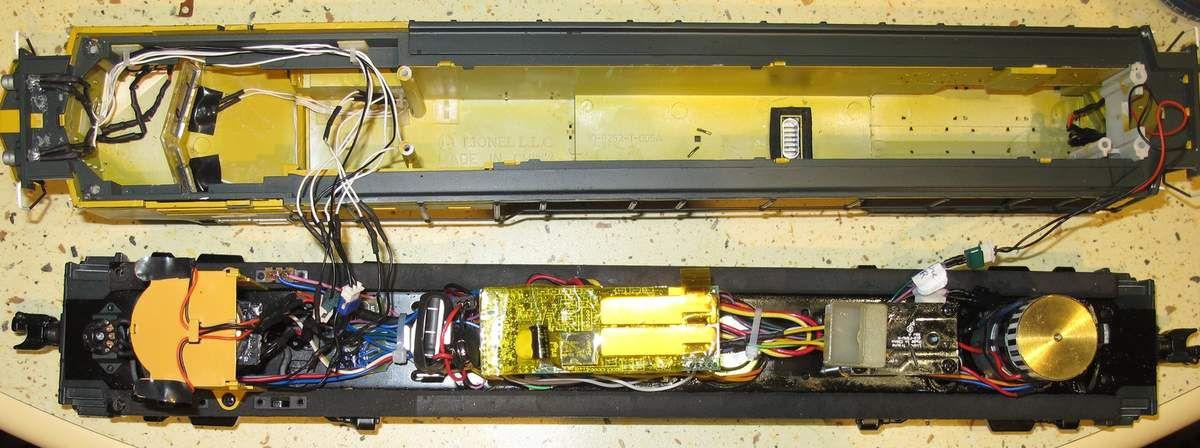 Conversions de motrices Lionel en Proto-Sound MTH