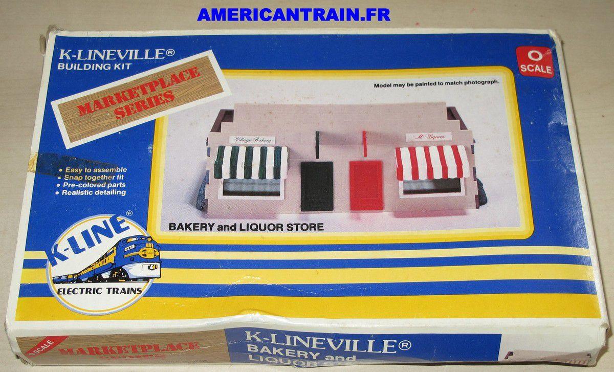 Bâtiment Bakery and Liquor Store échelle O K-line