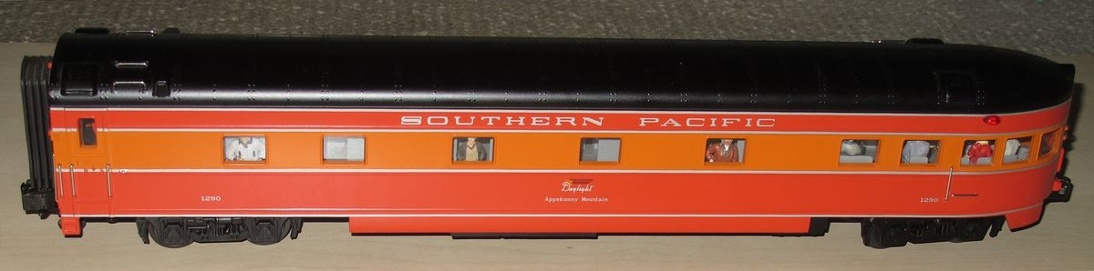 Voiture restaurant sonorisée Southern Pacific « DAYLIGHT » Lionel