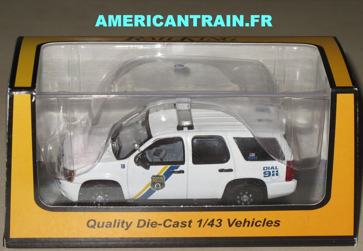 Voiture Chevy Tahoe Police Cruiser 1/43 30-50078 MTH