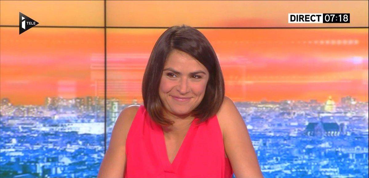 Sonia Chironi La Matinale Week-end Itélé 27.08.2016