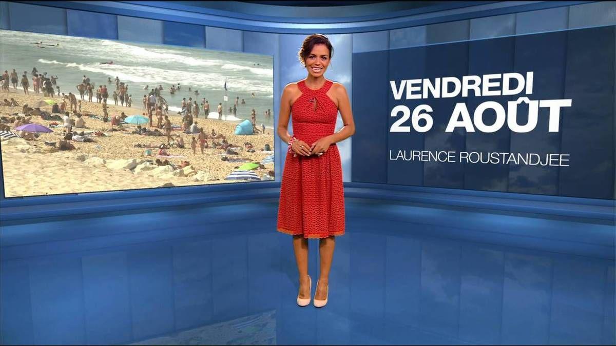 Laurence Roustandjee Météo M6 26.08.2016