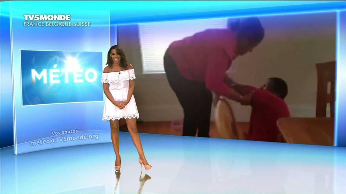 Alicia Fall Météo TV5 Monde 27.08.2016