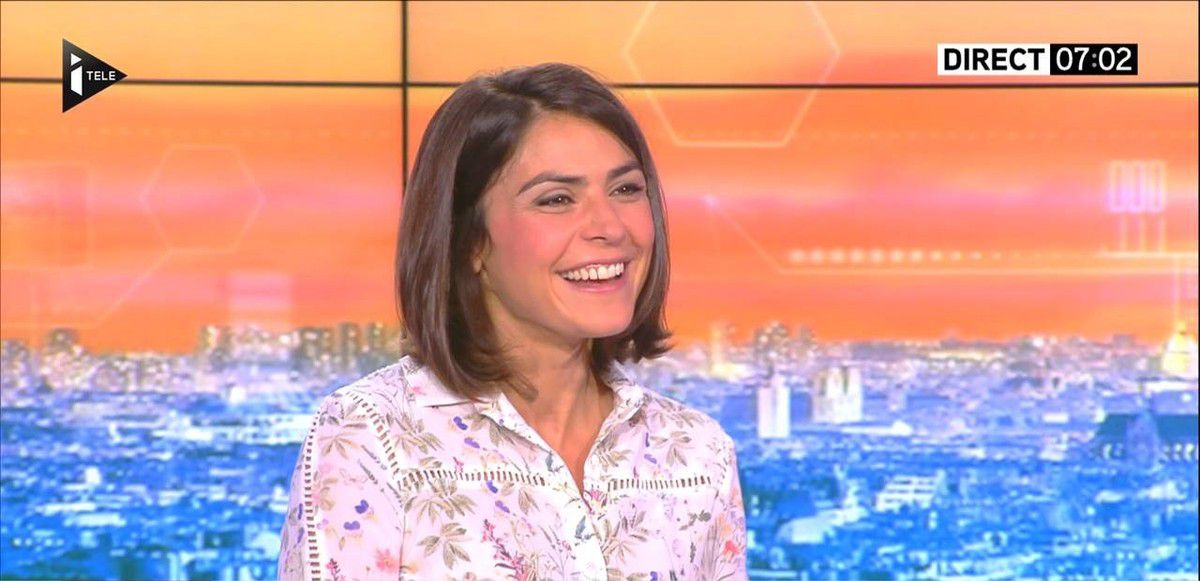 Sonia Chironi La Matinale Week-end Itélé 28.08.2016