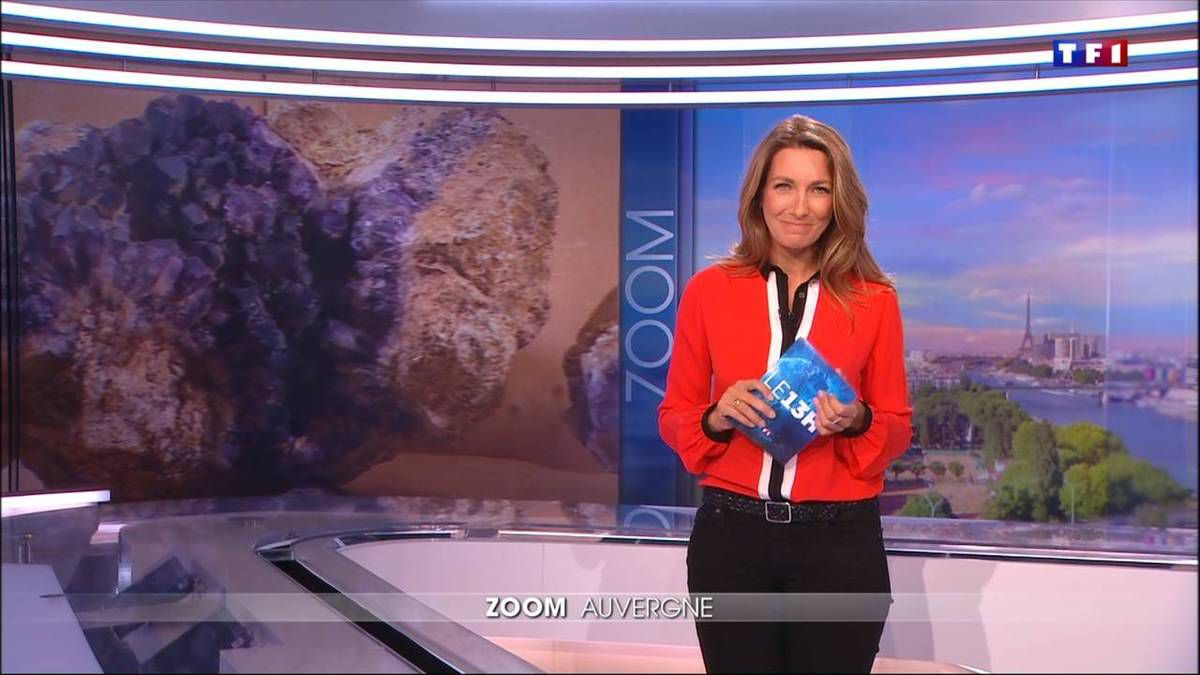 Anne-Claire Coudray JT 13H TF1 28.08.2016