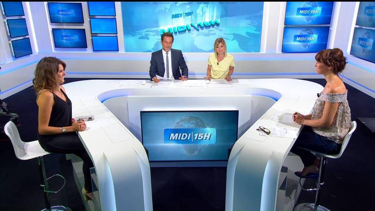 Fanny Agostini Météo BFM TV le 29.08.2016