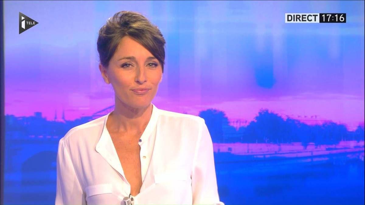 Amandine Bégot Le 17-19 Itélé le 29.08.2016