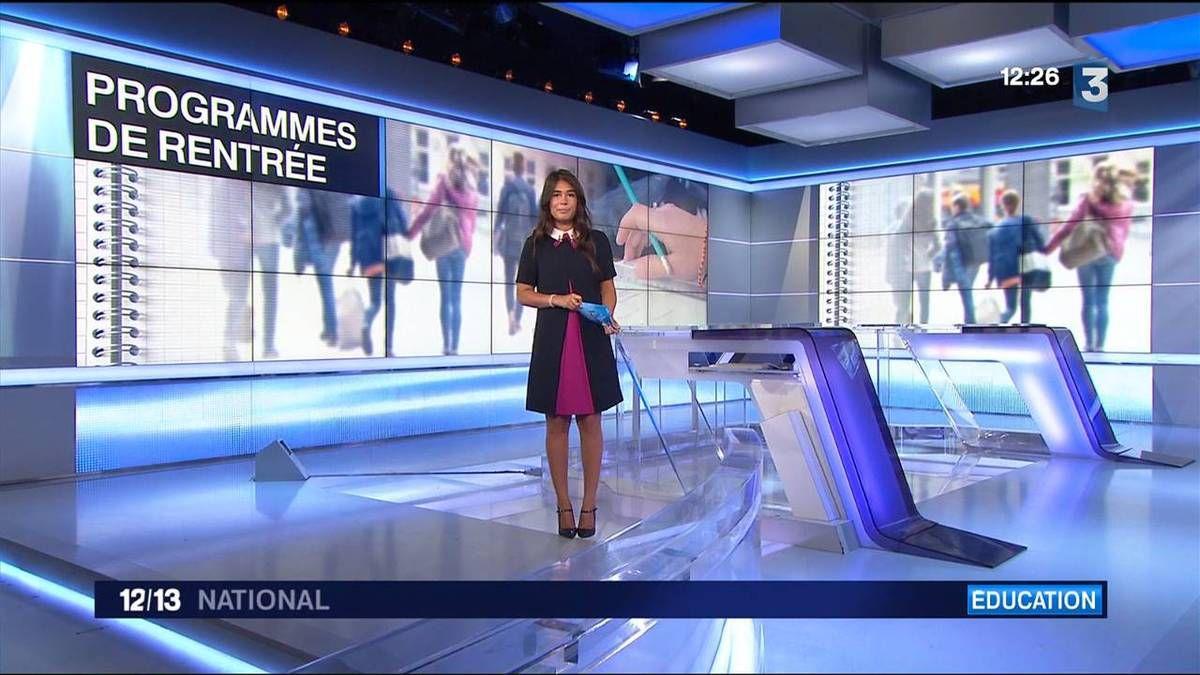 Emilie Tran Nguyen 12/13 France 3 le 29.08.2016