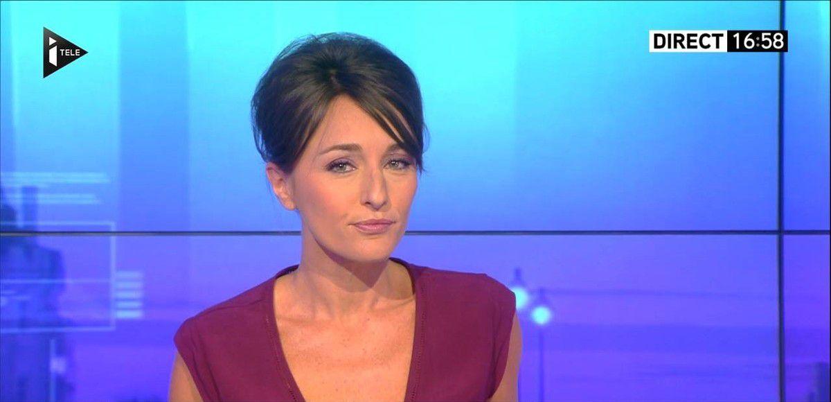 Amandine Bégot Le 17-19 Itélé le 30.08.2016
