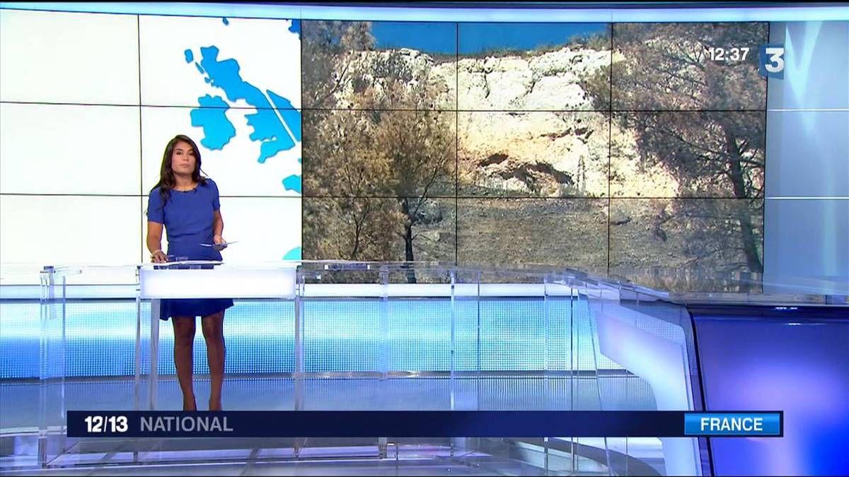 Emilie Tran Nguyen 12/13 France 3 le 30.08.2016