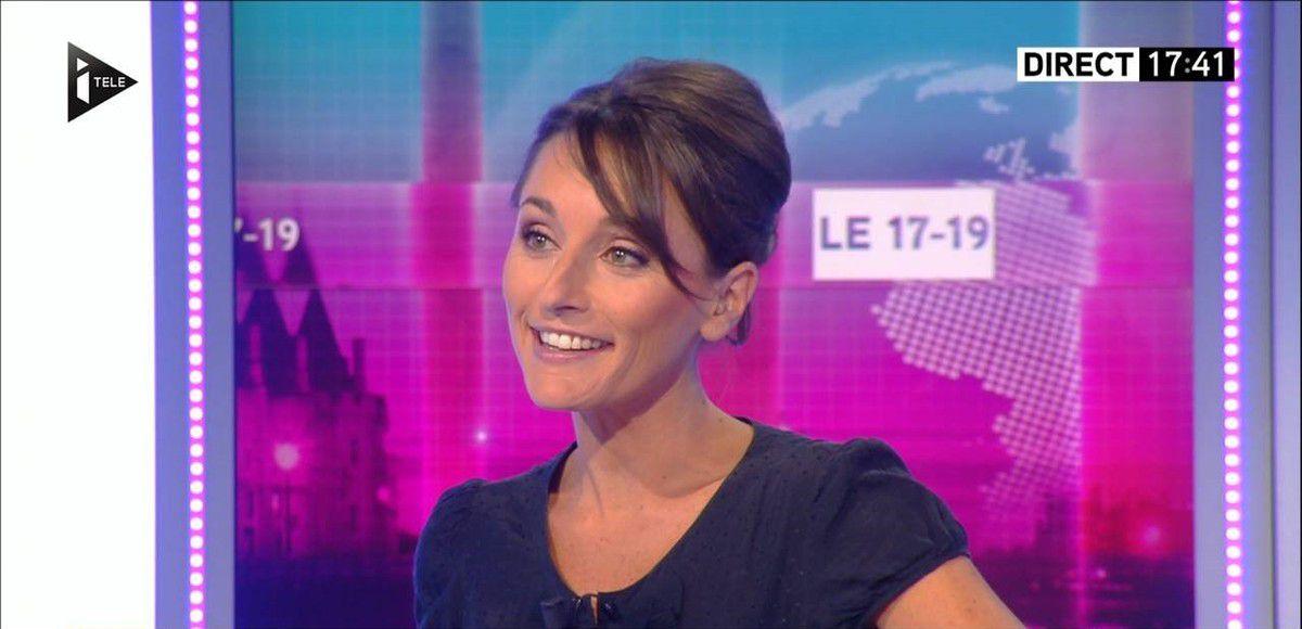 Amandine Bégot Le 17-19 Itélé le 31.08.2016