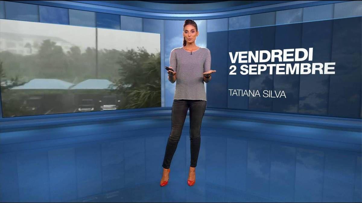 Tatiana Silva Météo M6 le 02.09.2016