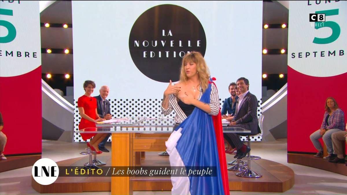 Emilie Besse La Nouvelle Edition C8 le 05.09.2016