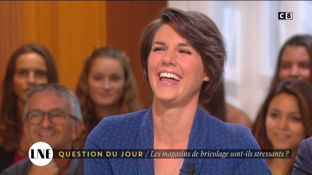 Emilie Besse La Nouvelle Edition C8 le 06.09.2016