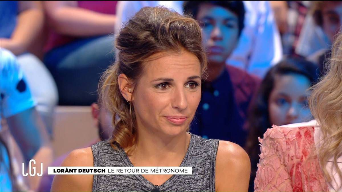 Alice Darfeuille Le Grand Journal Canal + le 07.09.2016