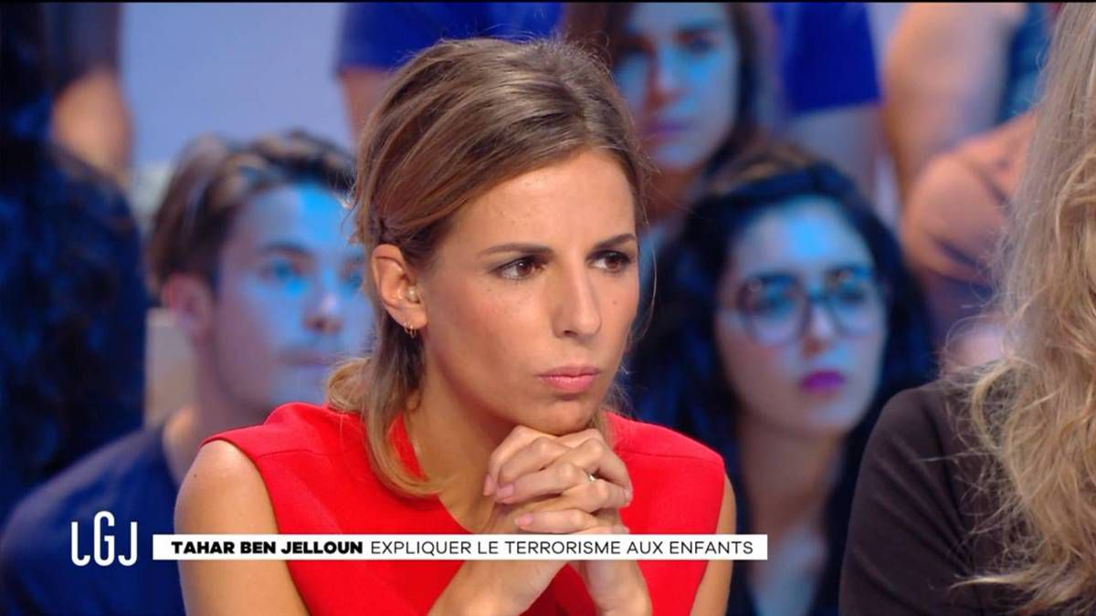 Alice Darfeuille Le Grand Journal Canal + le 08.09.2016