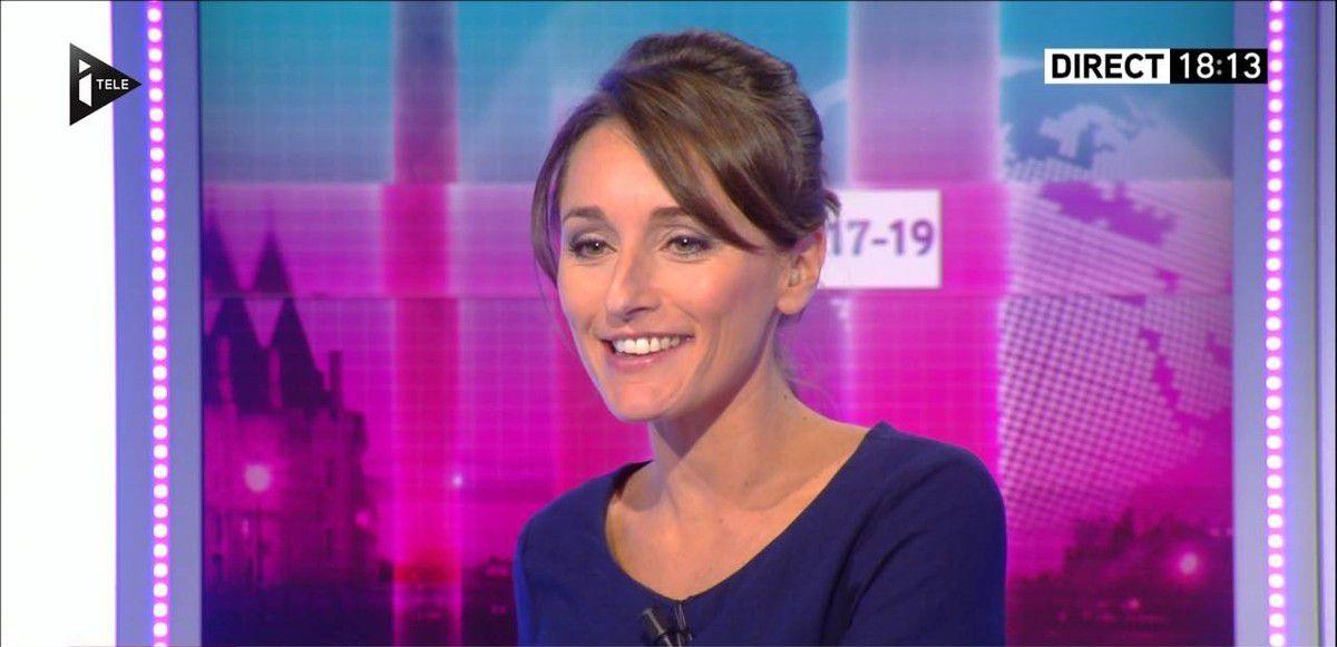 Amandine Bégot Le 17-19 Itélé le 08.09.2016