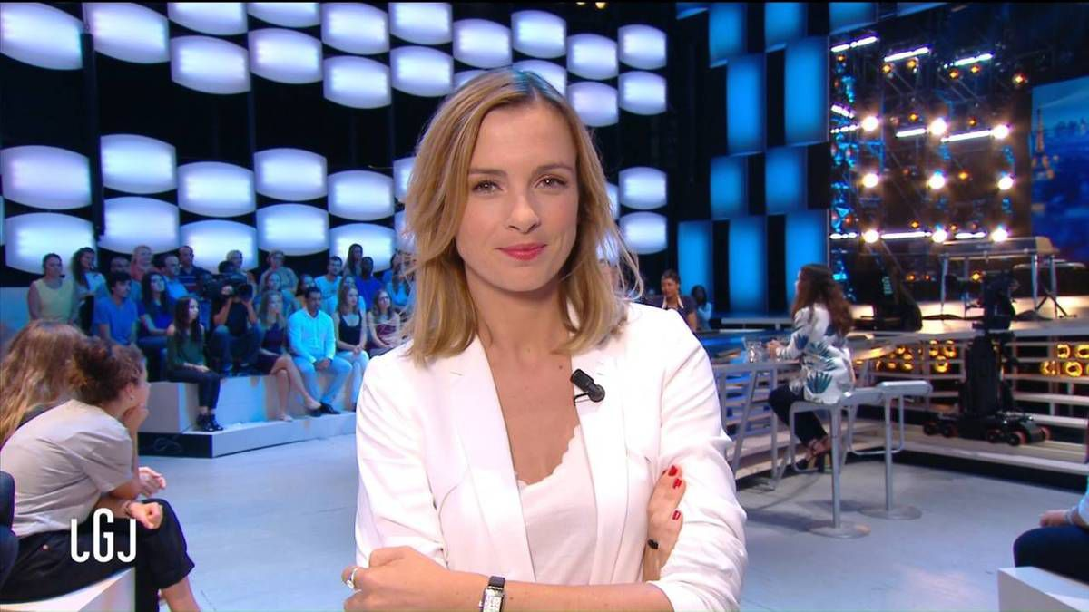 Isabelle Ithurburu Le Grand Journal le 09.09.2016