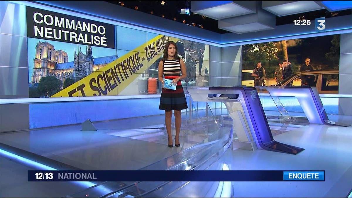 Emilie Tran Nguyen 12/13 France 3 le 09.09.2016