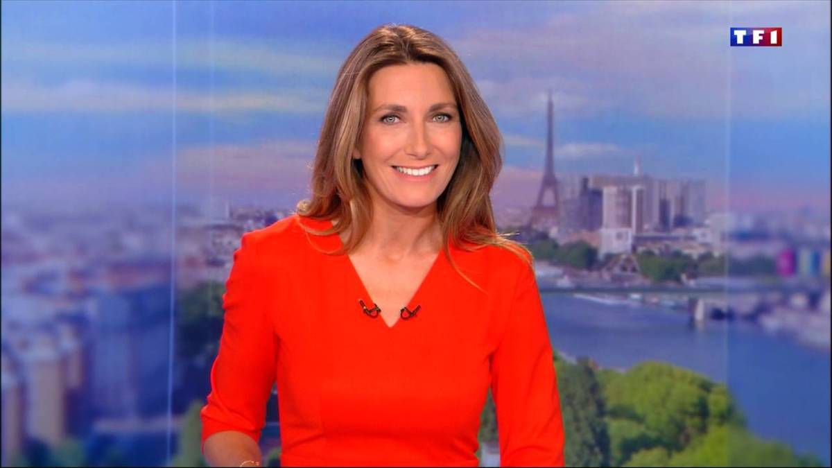 Anne-Claire Coudray JT 20H TF1 09.09.2016