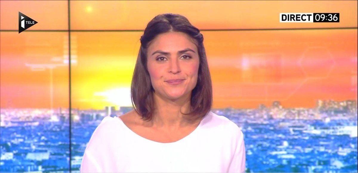 Sonia Chironi La Matinale Week-end Itélé 10.09.2016