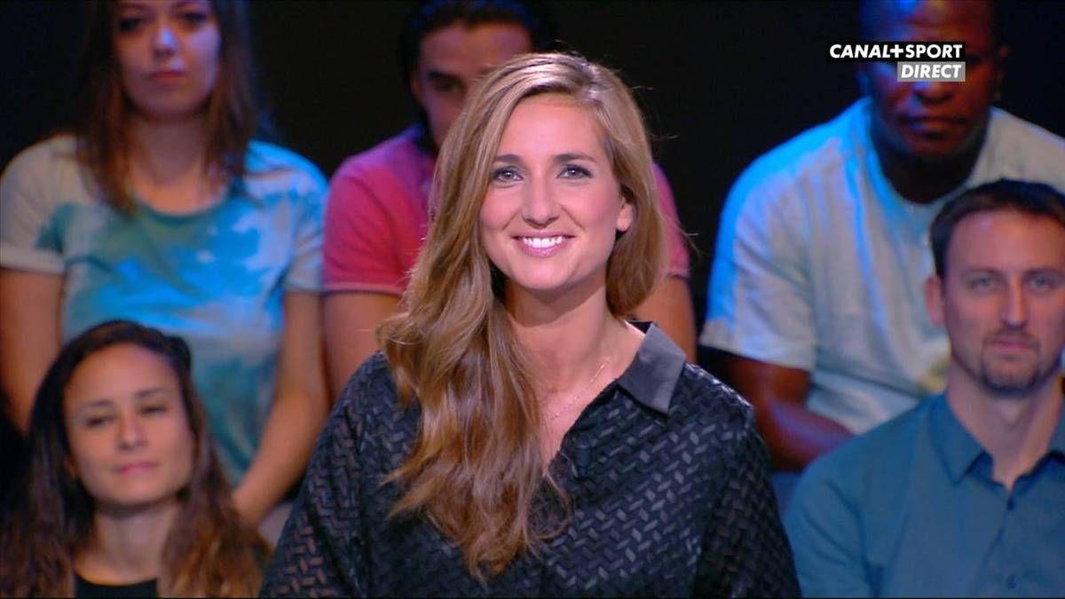 Marie Portolano 19H30 Sport Canal + Sport le 09.09.2016