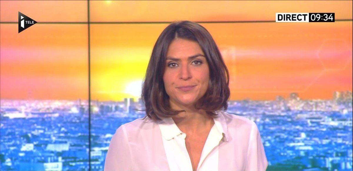 Sonia Chironi La Matinale Week-end Itélé 11.09.2016
