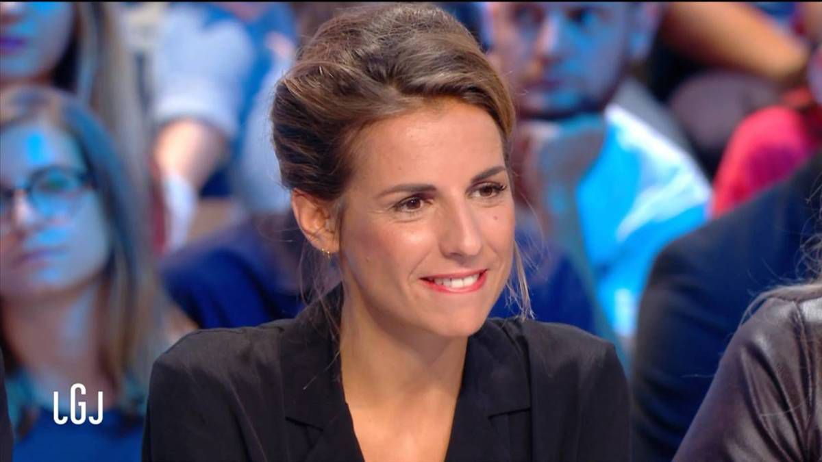 Alice Darfeuille Le Grand Journal Canal + le 12.09.2016