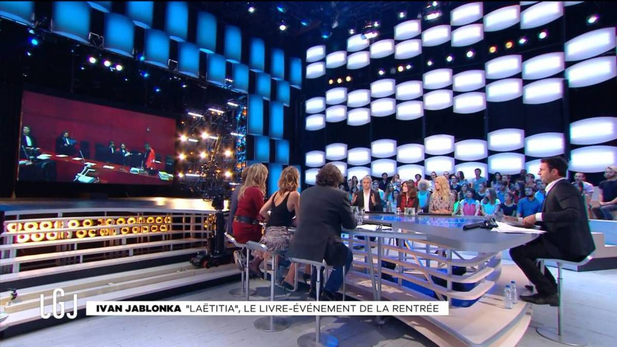 Alice Darfeuille Le Grand Journal Canal + le 13.09.2016
